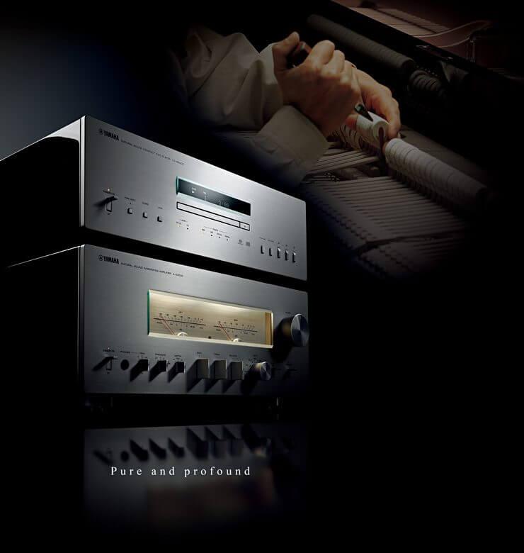 YAMAHA AS+CD 3000