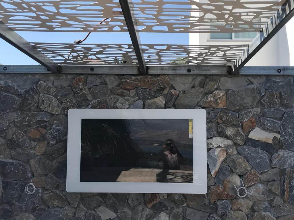 פתרון של מוגן מים למרפסת