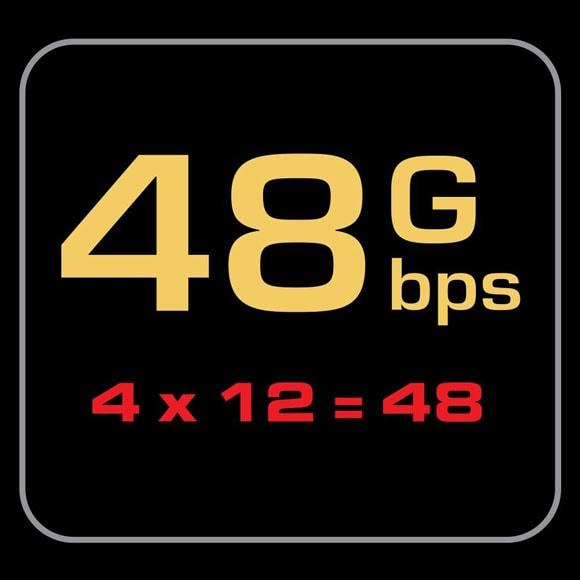 מהירות העברה 48G סדרת 48 Pearl